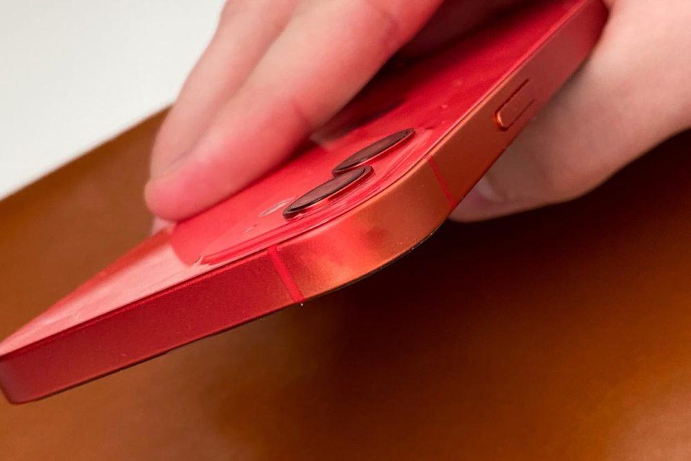iPhone 12 Product RED Decoloration 1 iPhone 12 : les bordures en aluminium feraient face à une décoloration