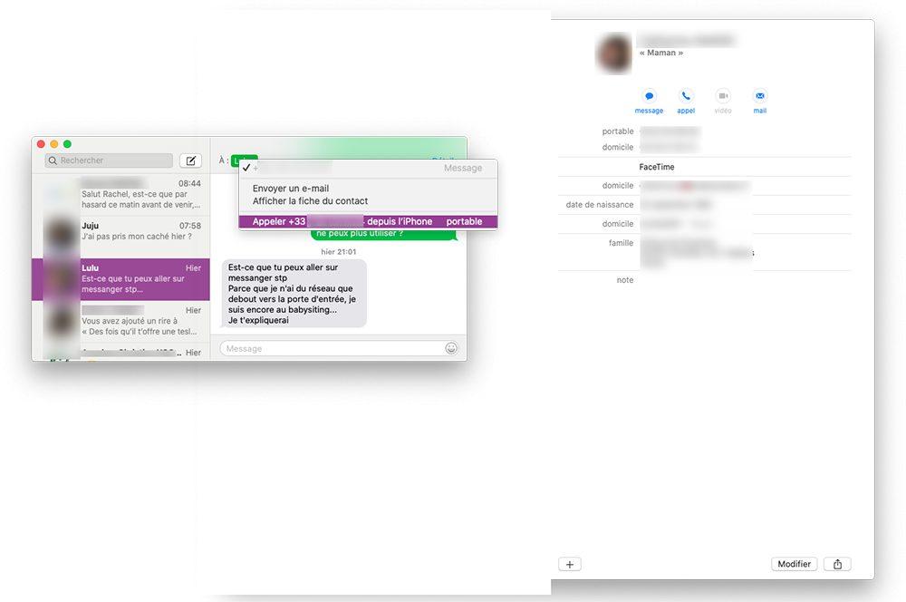 mac appel messages contacts Comment changer d'application par défaut pour les appels sur Mac tel que Skype, FaceTime, Teams…