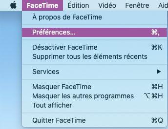 mac preferences facetime Comment changer d'application par défaut pour les appels sur Mac tel que Skype, FaceTime, Teams…