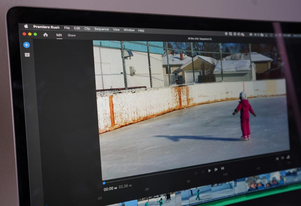 Adobe Premiere Rush Apple Silicon Adobe Premiere Rush est mis à jour et ajoute le support des Mac M1 (Apple Silicon)
