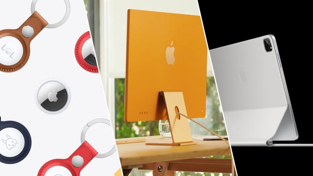 AirTag iMac M1 iPad Pro M1 AirTag, Apple TV 4K, iMac M1 et iPad Pro M1 (2021) : voici les prix en euros