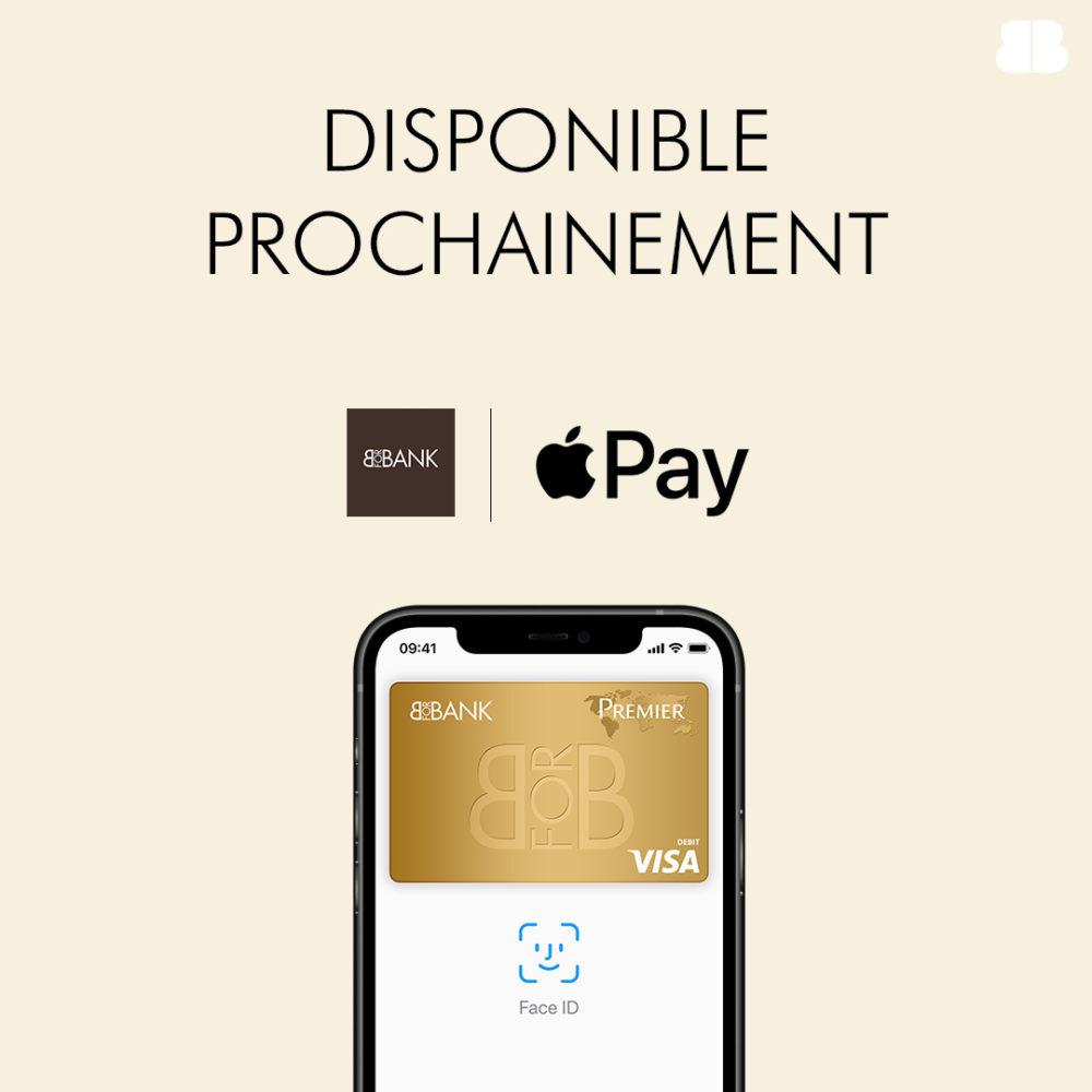 Apple Pay sera disponible prochainement chez BforBank