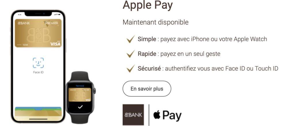 Apple Pay Disponible Chez BforBank Apple Pay débarque (enfin) chez BforBank