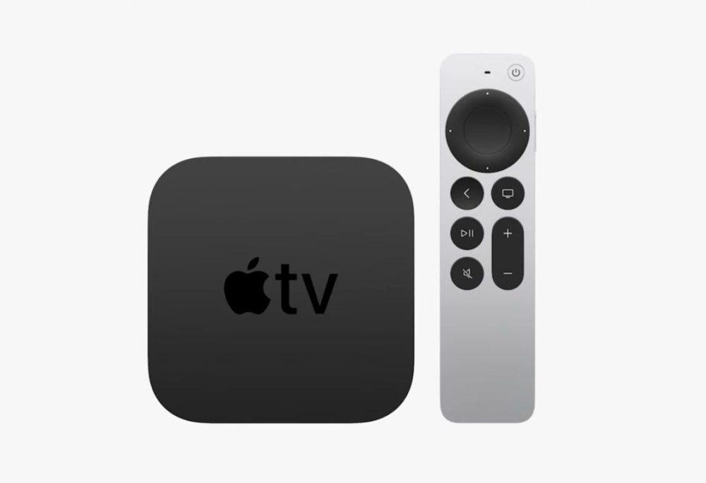 Apple TV 4K 2021 Apple dévoile la 6e génération dApple TV (4K 2021) avec la puce A12 et une nouvelle télécommande