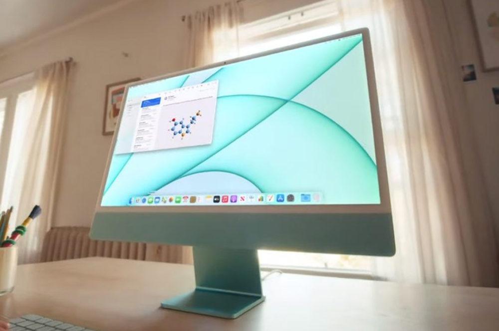 Apple iMac M1 2021 Vert iMac M1, iPad Pro M1 et Apple TV 4K (2021) : nouveaux délais pour la livraison