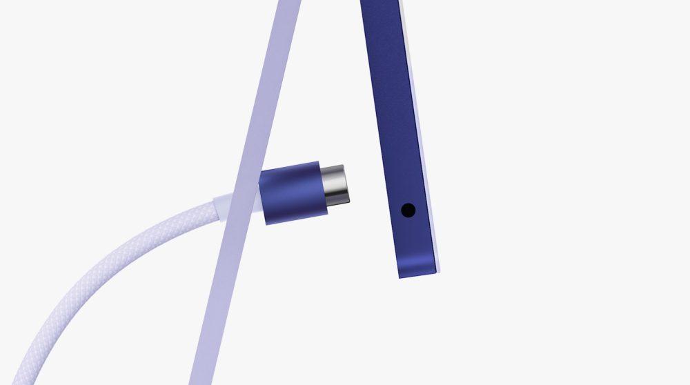 Apple iMac M1 Apple Silicon Nouvelle Connectivite Et Port Jack Apple dévoile son iMac M1 (Apple Silicon) : nouveau design, plusieurs coloris et plus encore