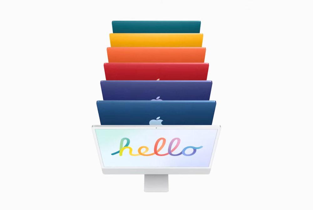 Apple iMac M1 Apple Silicon Apple dévoile son iMac M1 (Apple Silicon) : nouveau design, plusieurs coloris et plus encore