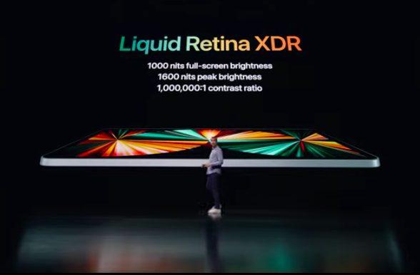 Apple iPad Pro M1 2021 Caracteristiques Ecran [Keynote] LiPad Pro 2021 est là : puce M1, 5G, Thunderbolt, écran XDR, 2 To de stockage...
