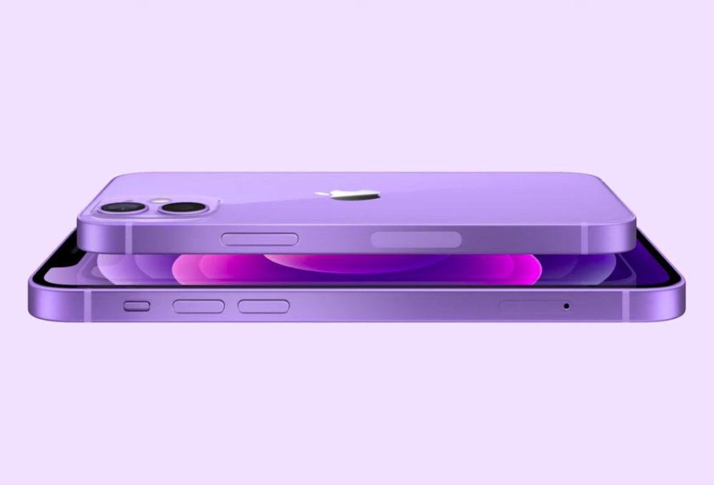 Apple iPhone 12 Mauve [Keynote avril 2021]   iPhone 12 : Apple dévoile une nouvelle couleur mauve (Purple)
