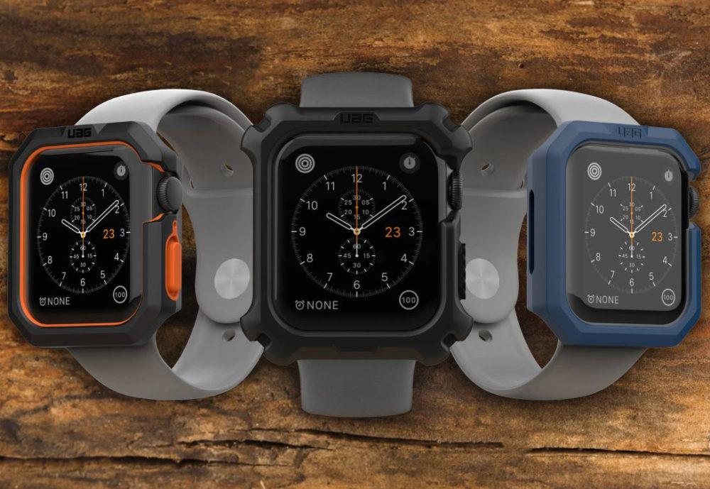 UAG Civilian and Rugged Apple Watch Coques Apple Watch : un modèle antichoc pour les conditions extrêmes serait en préparation