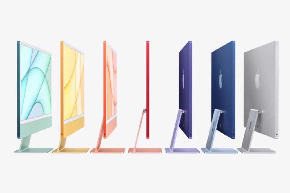 iMac 24 Pouces Apple M1 Coloris AirTag, Apple TV 4K, iMac M1 et iPad Pro M1 (2021) : voici les prix en euros