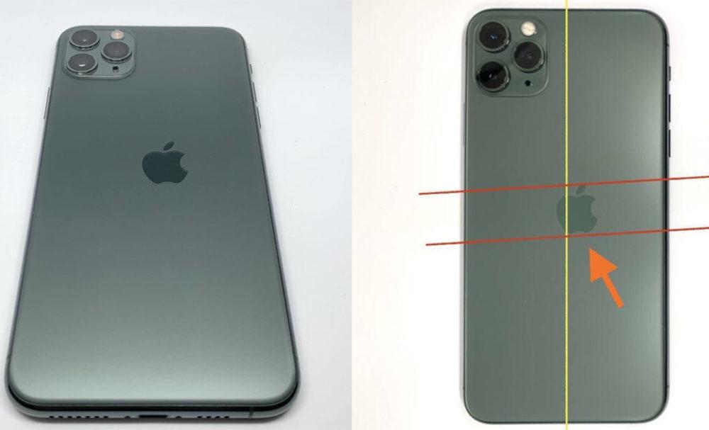 iPhone 11 Pro Logo Apple Mal Positionne iPhone 11 Pro : un modèle avec le logo Apple mal positionné est dévoilé sur Twitter