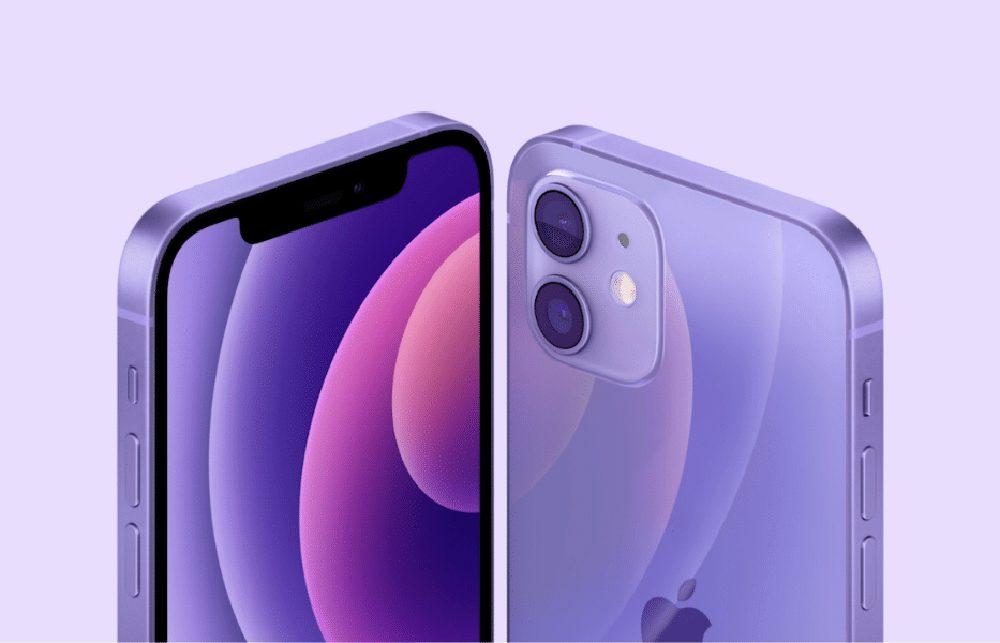 iPhone 12 Mauve [Keynote avril 2021]   iPhone 12 : Apple dévoile une nouvelle couleur mauve (Purple)