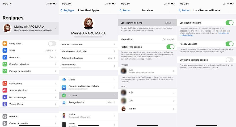 iphone localiser Que faire lorsque mon iPhone est perdu ou volé ?