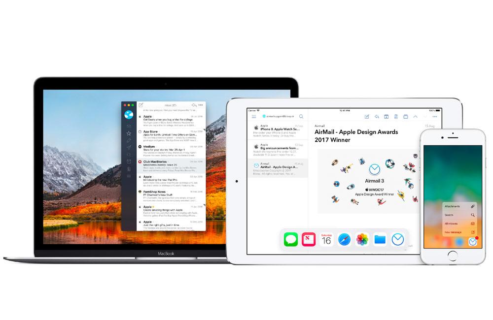 mac app mail Top 8 des apps clients mails pour Mac