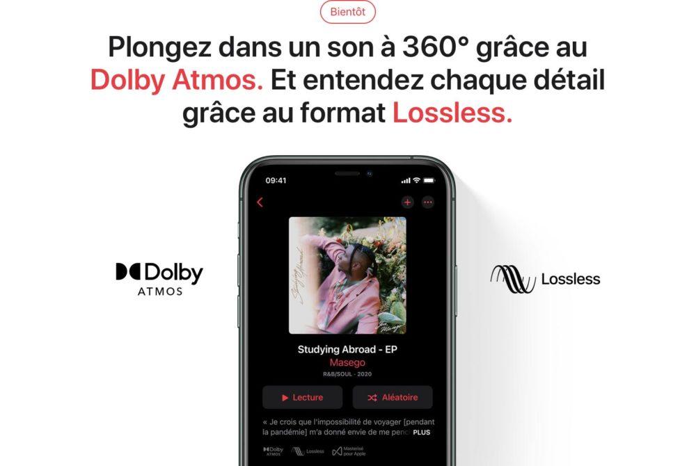 Apple Music Lossless Dolby Atmos Apple Music sur Android : le Lossless (audio sans perte) au lancement, mais pas le Dolby Atmos