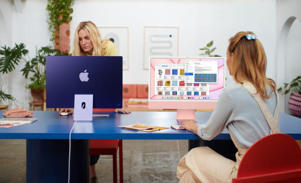 Apple iMac M1 2021 Des tests indiquent que liMac M1 (24 pouces) est 56% plus puissant que liMac 21,5 pouces Intel