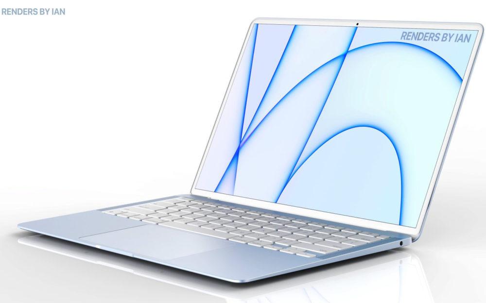 MacBook Air : un modèle avec plusieurs coloris équipé de la puce M2 pour le 1er semestre 2022