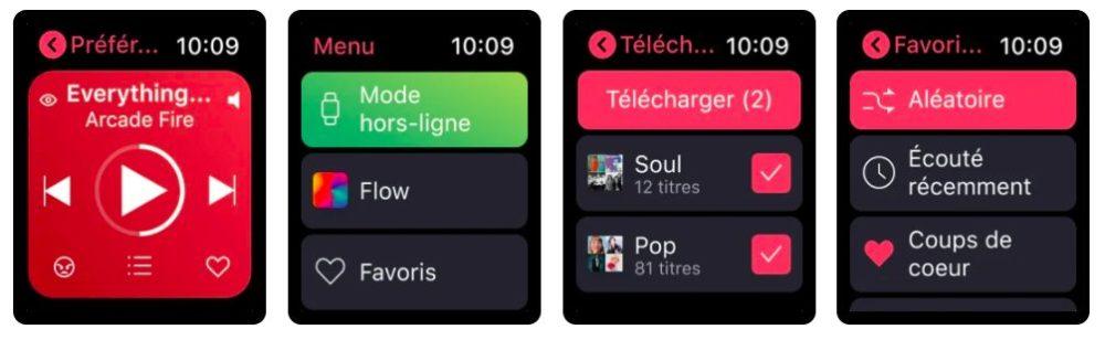 Deezer Application Apple Watch Deezer passe à la version 8.39.0 et ajoute lécoute hors connexion sur lapp Apple Watch