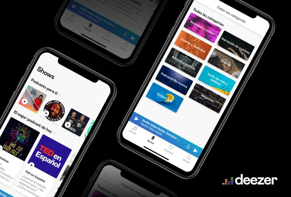 Deezer iPhone Deezer passe à la version 8.39.0 et ajoute lécoute hors connexion sur lapp Apple Watch