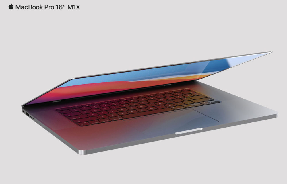 MacBook Pro 2021 16 Pouces Design Rendus De nouveaux MacBook Pro seraient dévoilés par Apple à la WWDC 2021