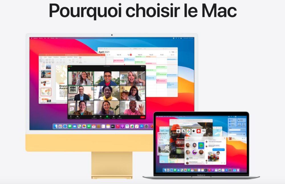 Pourquoi Choisir Le Mac Pourquoi choisir le Mac ?, Apple vous donne les raisons