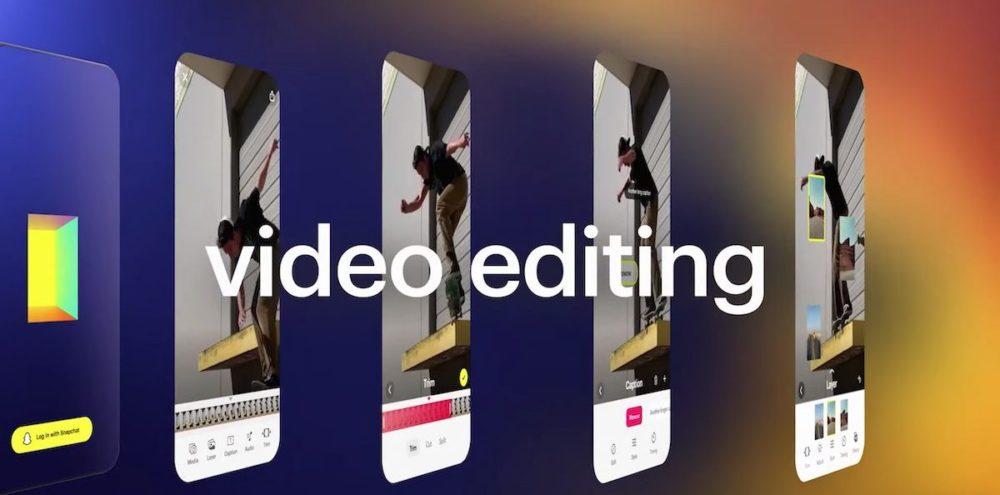 Snapchat Story Studio Video Editing Snapchat dévoile Story Studio, une app de création, de montage et dédition de vidéo