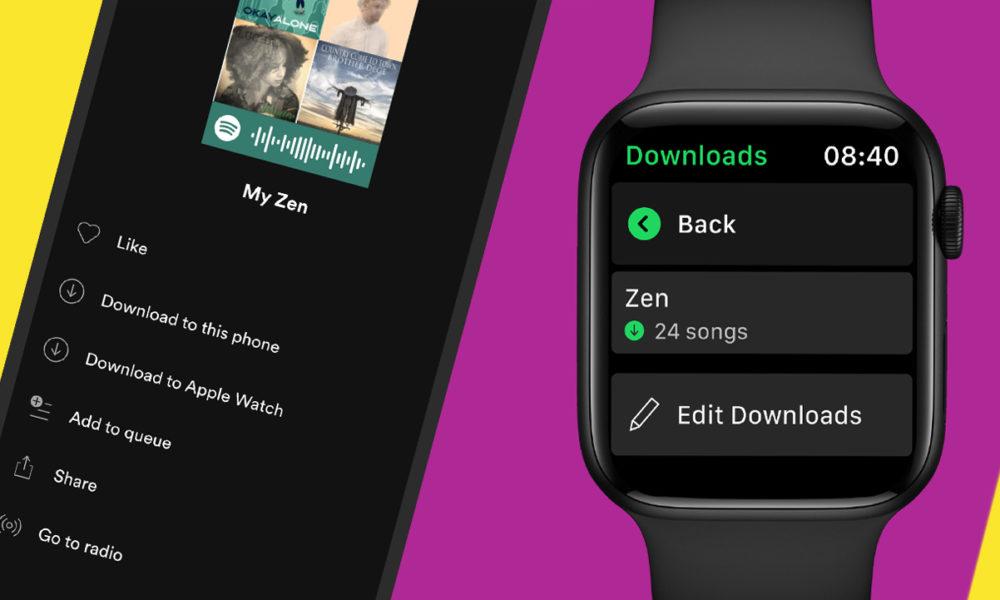 Spotify Telecharger Musiques Apple Watch Spotify sur Apple Watch : il est possible de télécharger la musique et lécouter hors ligne