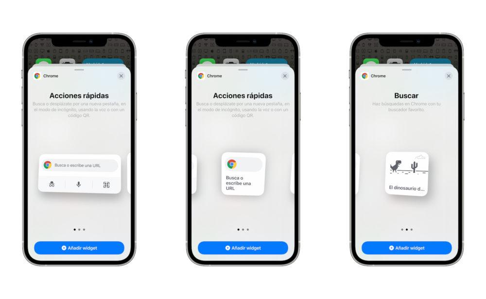 Google met à jour son navigateur Chrome et propose les widgets sur iOS 14