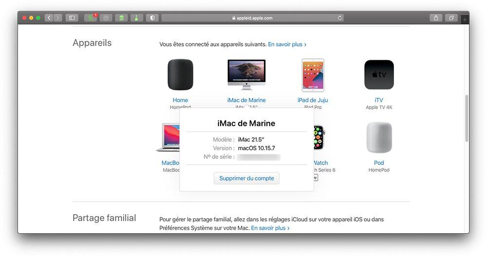 appleid mac supprimer compte Que faire avant de vendre son Mac