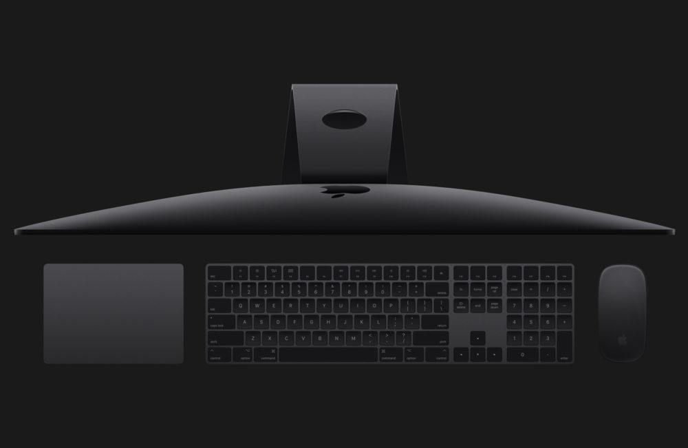 iMac Magic Mouse 2 Magic Keyboard et Magic Trackpad Gris Sideral Apple abandonne le clavier, la souris et le trackpad en gris sidéral de liMac Pro