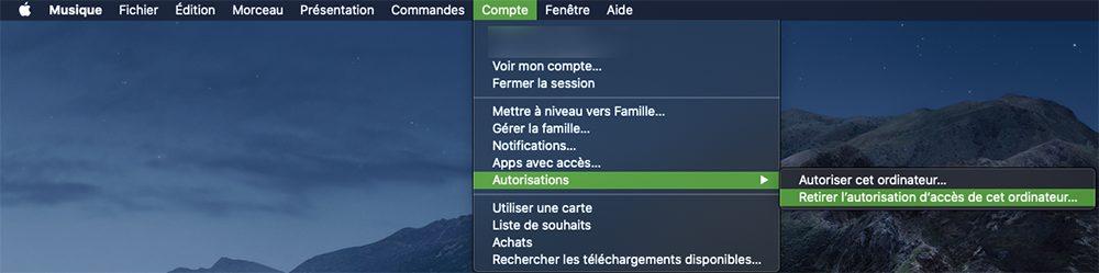 mac musique retirer autorisation Que faire avant de vendre son Mac