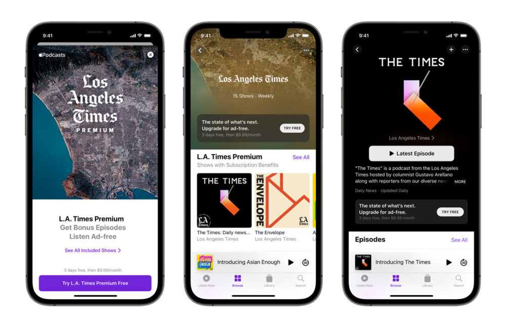 Apple Podcasts iPhone 12 Apple Podcasts : les abonnements sont désormais disponibles