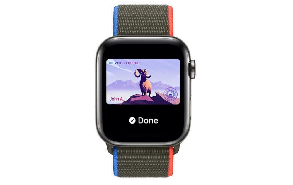 Apple Watch Permis de Conduire Carte Identite watchOS 8 Que lApple Watch remplace votre portefeuille, cest ce que veut Apple