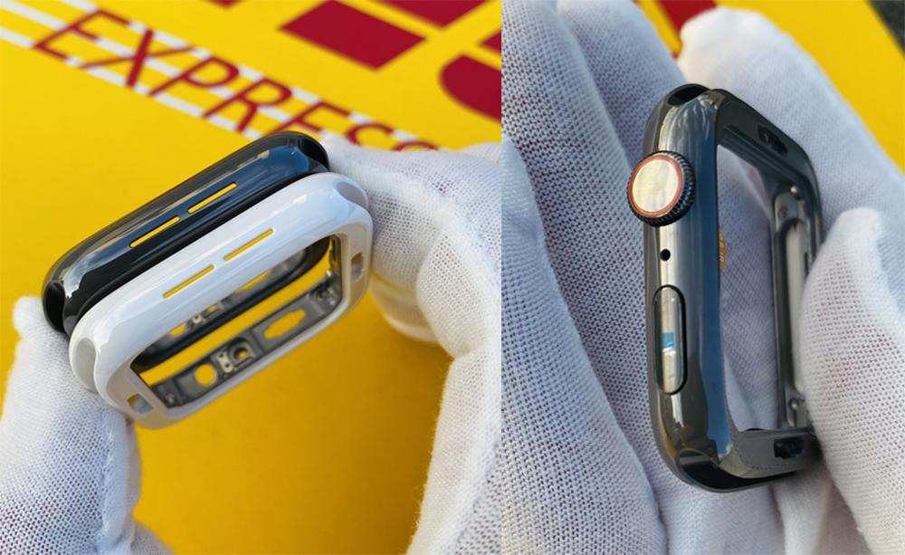 Apple Watch Series 5 Pretendu Black Ceramic Edition Apple Watch Series 5 : des photos dévoilent une inédite version noire en céramique