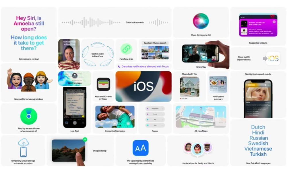 Apple iOS 15 Nouveautes WWDC La version finale diOS 15 et diPadOS 15 est disponible : voici les nouveautés