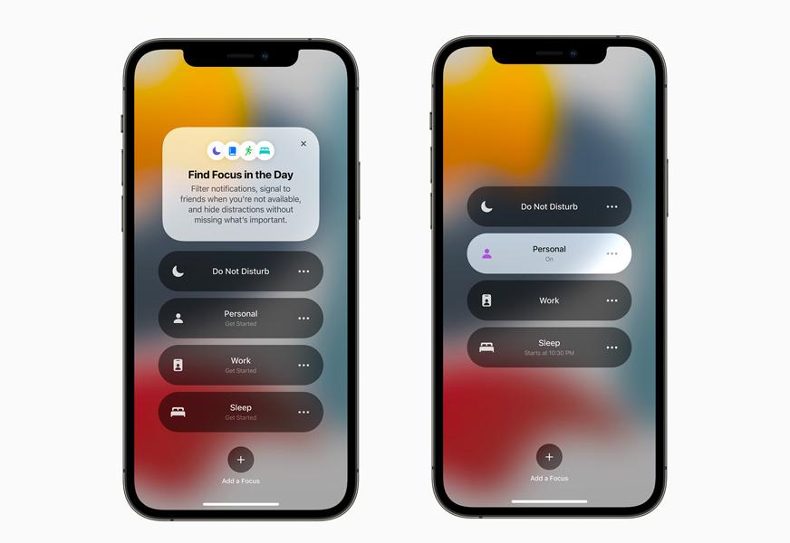 Apple iPhone 12 Pro iOS 15 Concentration [WWDC 2021]   iOS 15 : Live Text, nouveautés dans Plans, Météo, Wallet, partage de médias sur FaceTime...