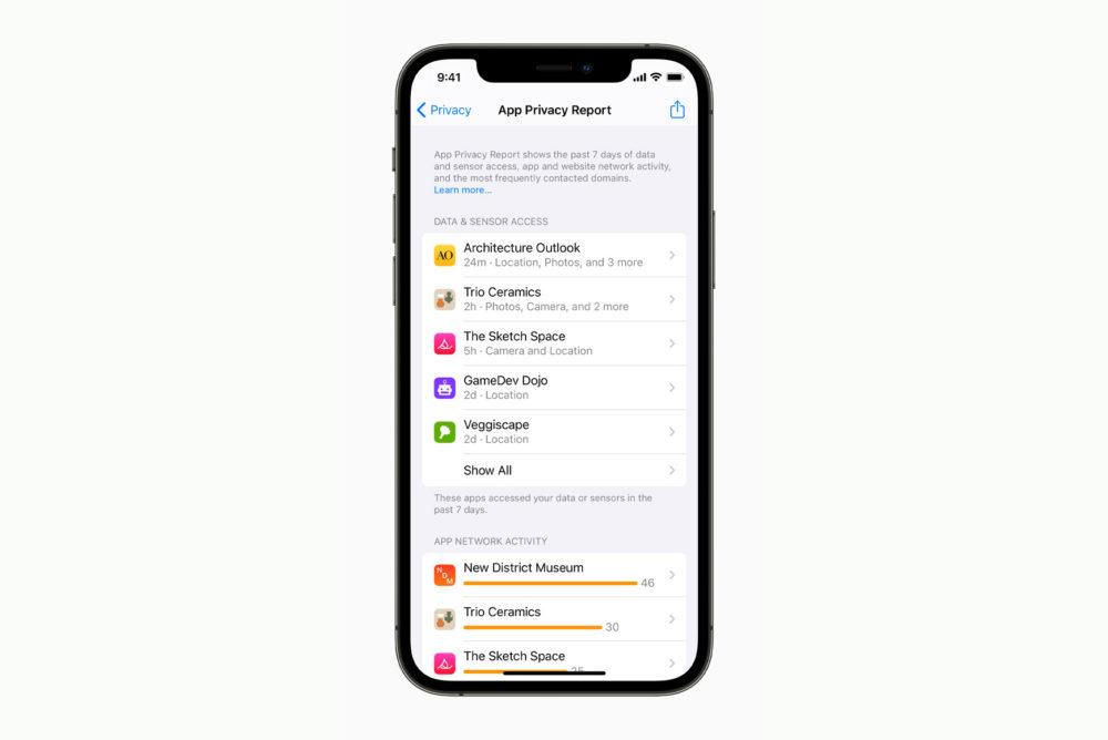 Apple iPhone 12 Pro iOS 15 Confidentialite Apple publie la bêta 4 développeurs diOS 15.1 et diPadOS 15.1