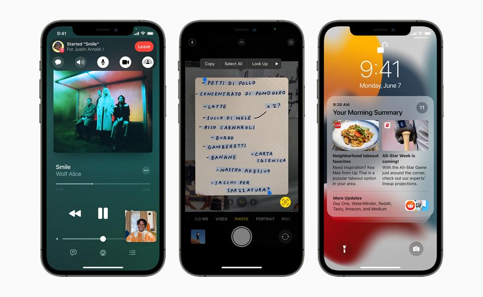 Apple iPhone 12 Pro iOS 15 iOS 15 et iPadOS 15 bêta 3 : la liste des nouveautés proposées par Apple