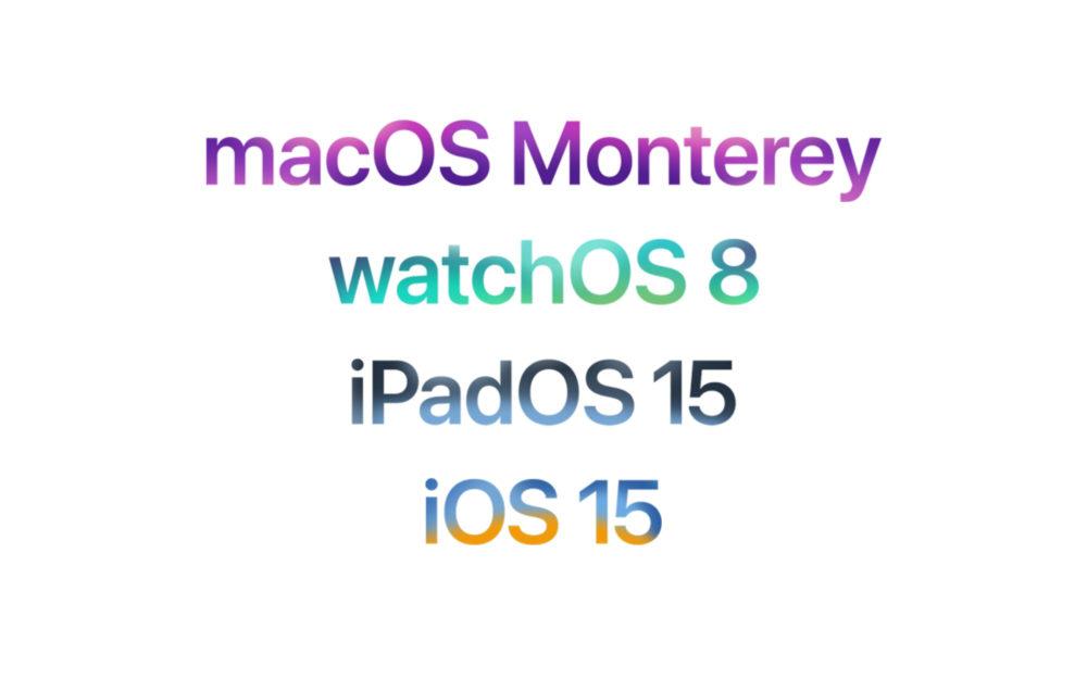 Apple macOS Monterey watchOS 8 iPadOS 15 iOS 15 iOS 15, macOS Monterey et watchOS 8 : les nouveautés sont disponibles en français