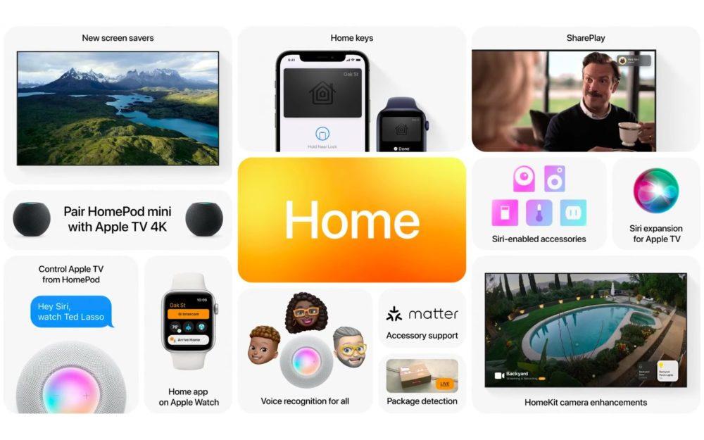 Apple tvOS 15 Nouveautes WWDC 2021 tvOS 15 : la connexion aux apps avec Face ID ou Touch ID depuis un iPhone sera possible