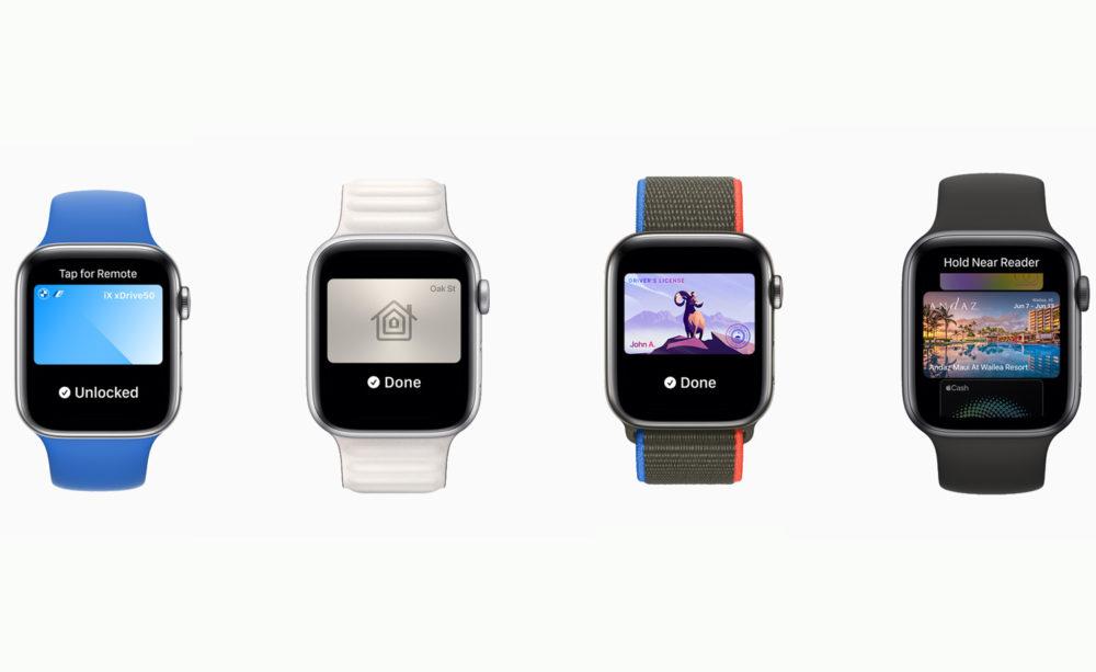 Apple watchOS 8 CarKey Wallet WWDC 2021 watchOS 8 : Apple publie la bêta 3 développeurs
