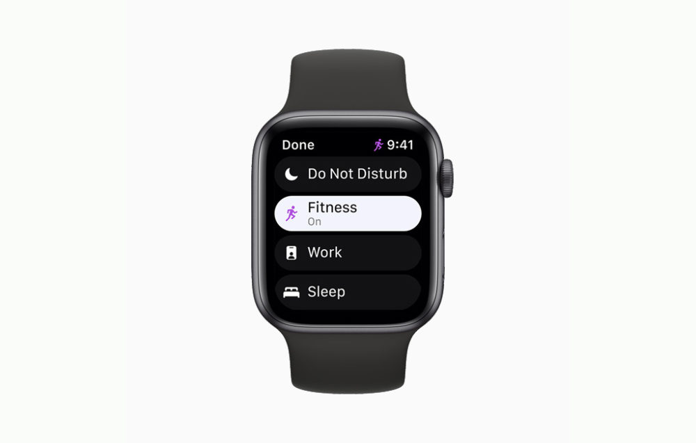 Apple watchOS 8 Concentration Apple publie la bêta 1 développeurs de watchOS 8.1