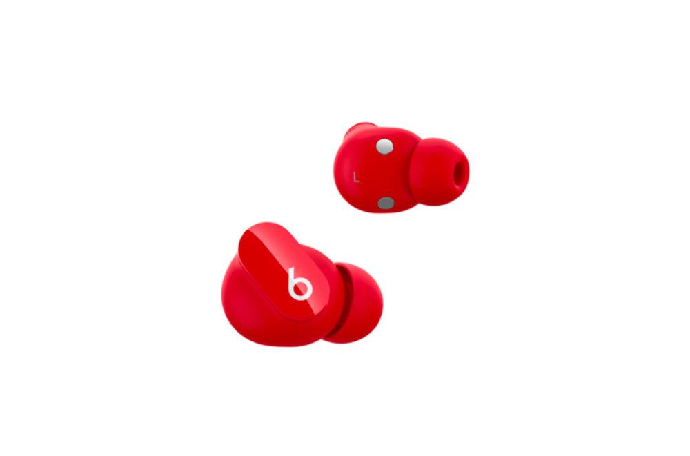 Beats Studio Buds Rouge Apple dévoile les Beats Studio Buds à 150 euros : réduction active du bruit, mode Transparence...