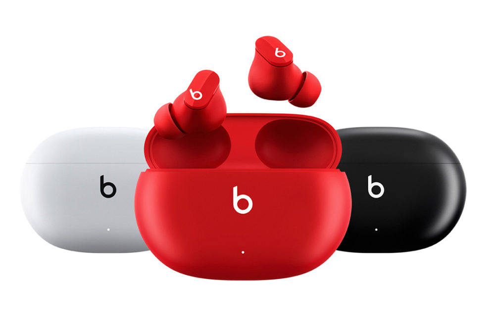 Beats Studio Buds Apple dévoile les Beats Studio Buds à 150 euros : réduction active du bruit, mode Transparence...