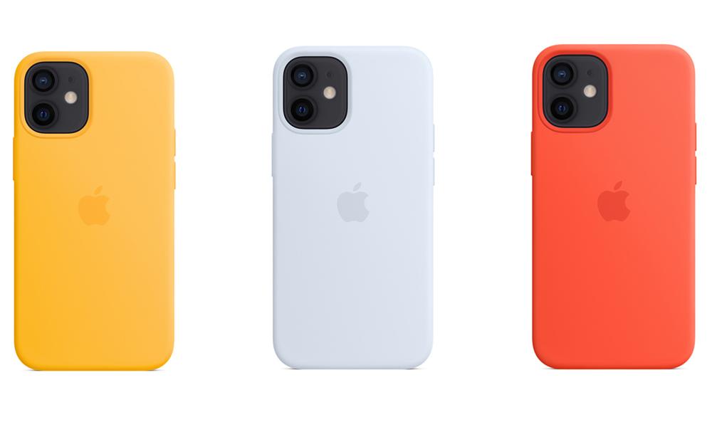 Coque en silicone avec MagSafe pour iPhone 12 Coques MagSafe iPhone 12 : 3 nouveaux coloris sont proposés à la vente Apple pour lété