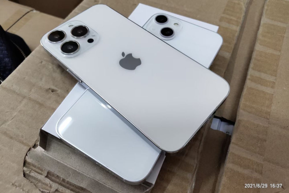 Voici de nouvelles maquettes qui montrent le design de liPhone 13, lencoche plus petite et autres