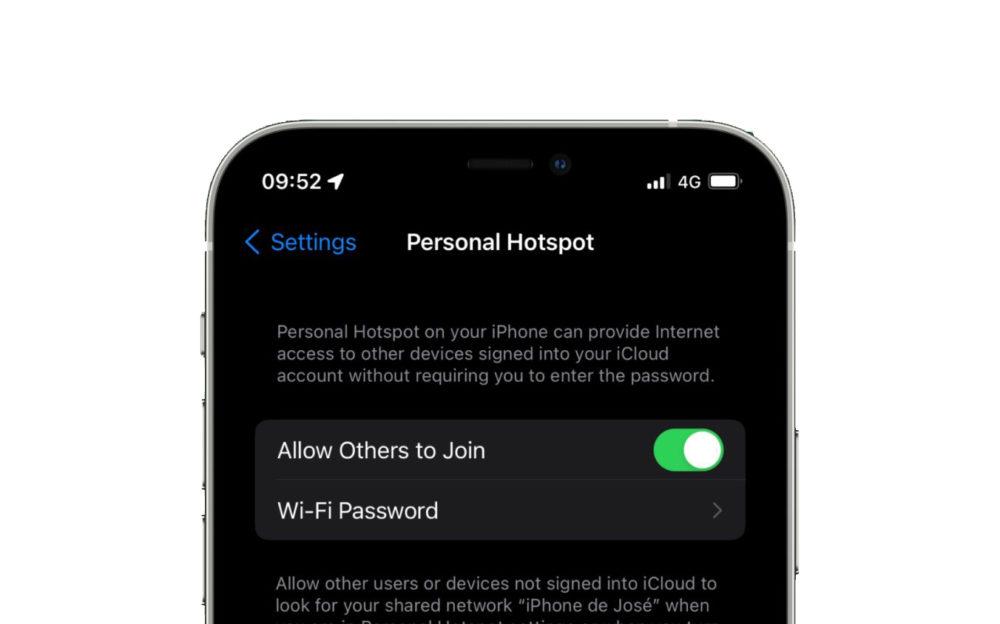 Partage de Connexion iOS 15 iOS 15 : le partage de connexion sera plus sécurisé à laide du protocole de sécurité WPA3