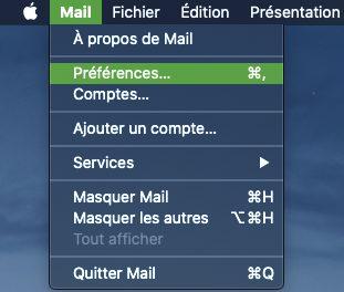 mac mail menu Comment ajouter une signature personnalisée avec Mail sur iPhone ou Mac ?