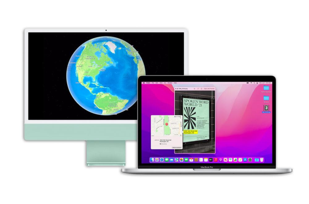 macOS 12 Monterey iMac MacBook Pro macOS Monterey : la bêta 4 développeurs est disponible